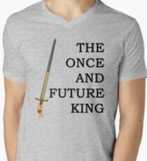 The Once And Future King Ver. 1 Men's V-Neck T-Shirt