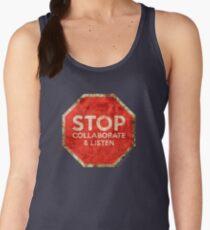 Stop, Collaborate & Listen Women's Tank Top