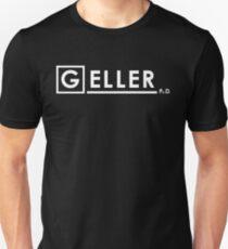 Dr Ross Geller Ph.D  x House M.D. Unisex T-Shirt