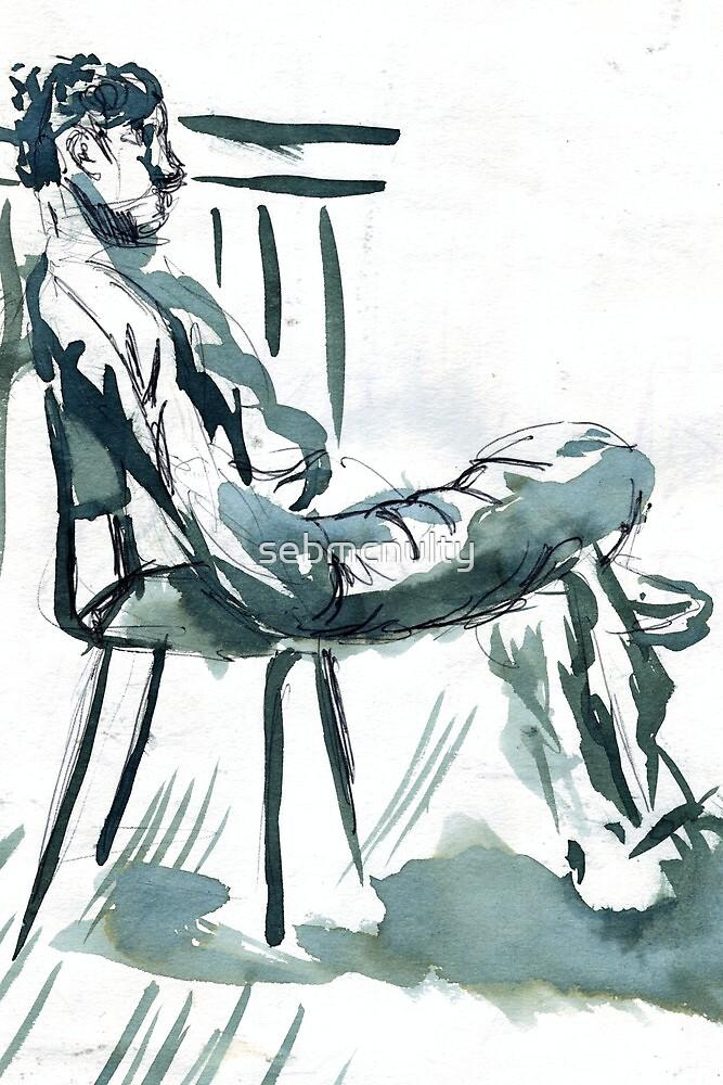 sunny chair  by sebmcnulty