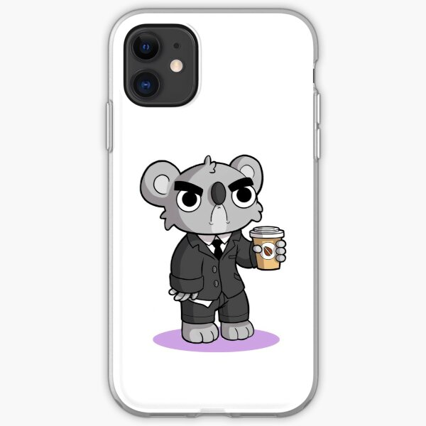 Grumpy Koala iPhone Soft Case