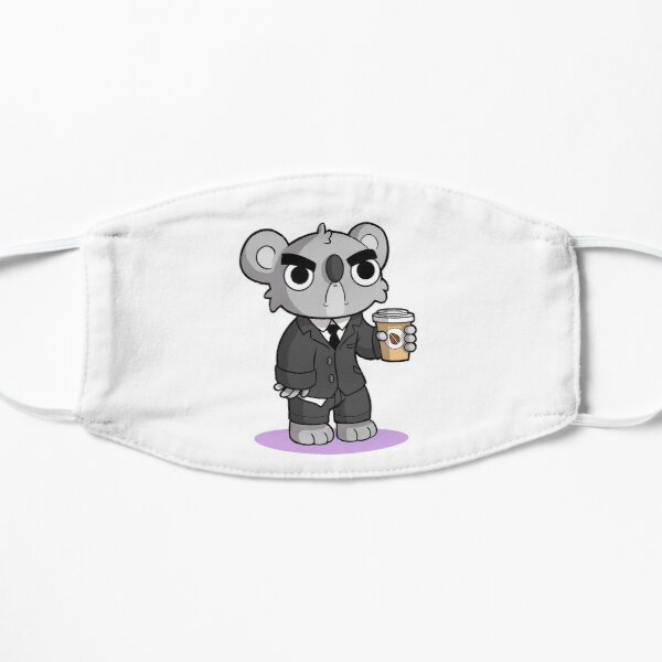 Mürrischer Koala Flache Maske