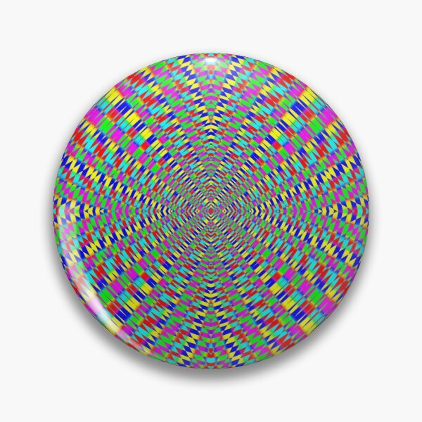 Optical illusion, Concentric Circles, Geometric Art - концентрические круги Pin