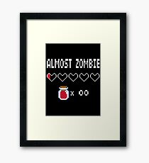 Almost Zombie Framed Print