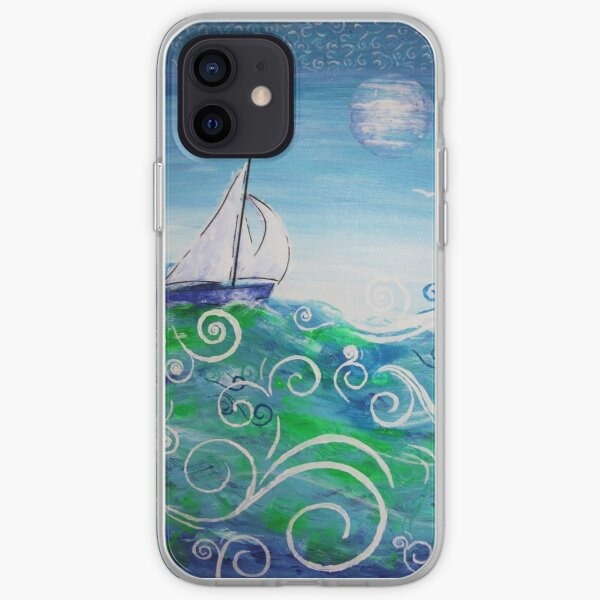 Sailing by Jan Marvin iPhone Soft Case