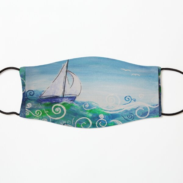 Sailing by Jan Marvin Kids Mask
