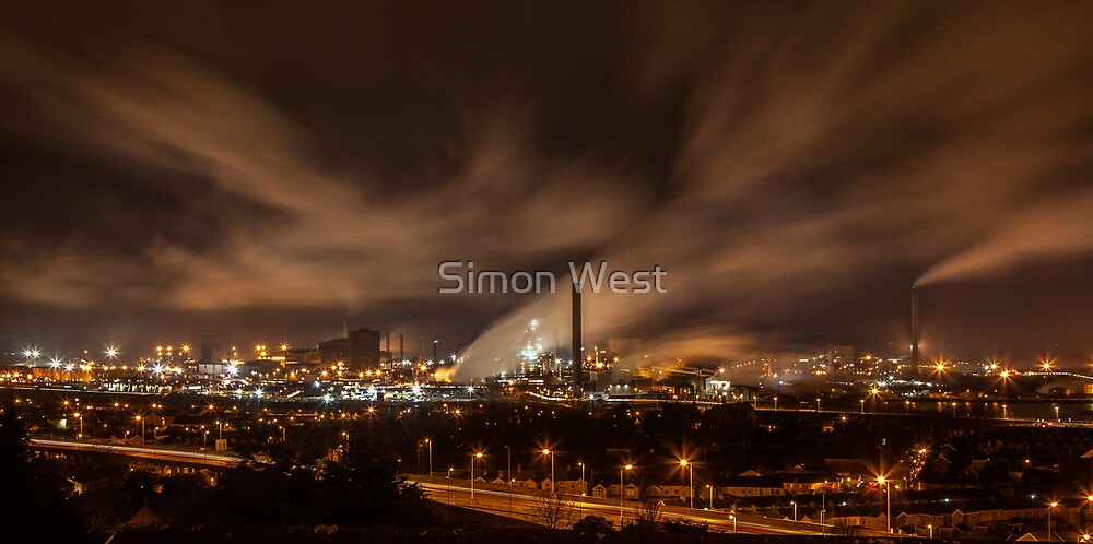 Port Talbot by Simon West
