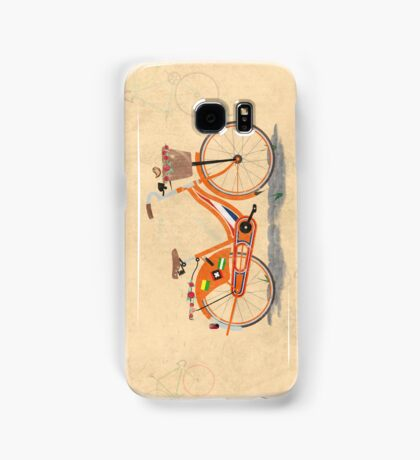 Love Holland, Love Bike Samsung Galaxy Case/Skin