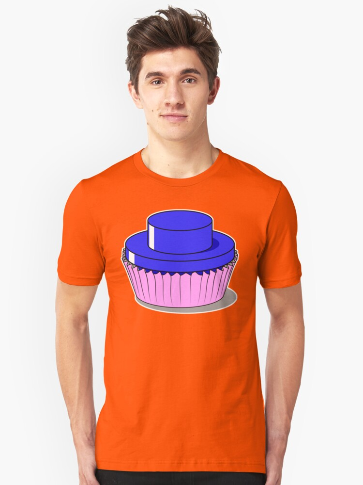 Stud Muffin - Blue Unisex T-Shirt Front