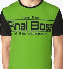 Final Boss Graphic T-Shirt