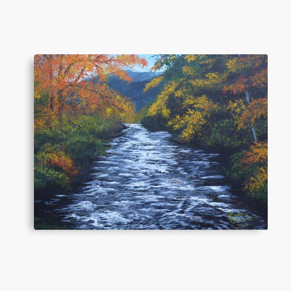 Little River in Townsend, TN Canvas Print