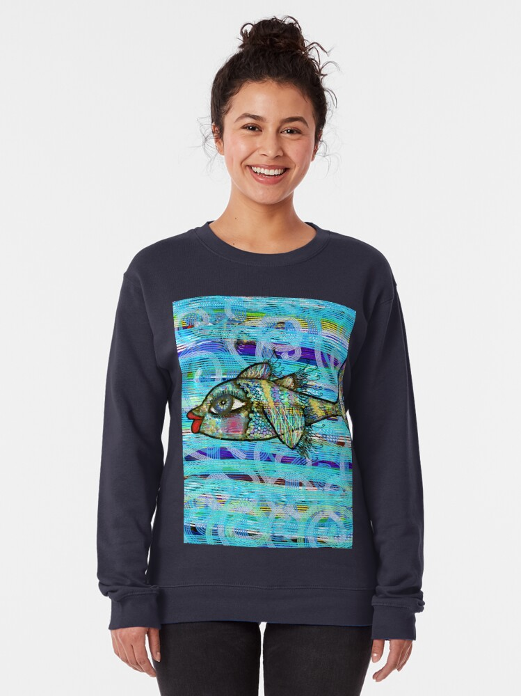 Alternate view of The fish Pullover Sweatshirt