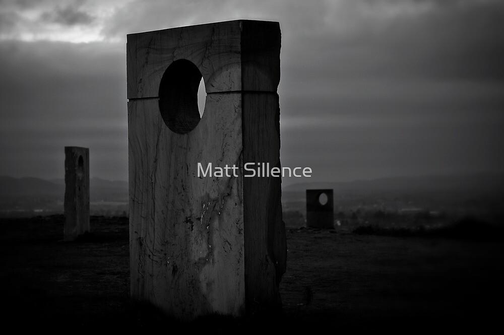 Monuments atop Haughmond by Matt Sillence