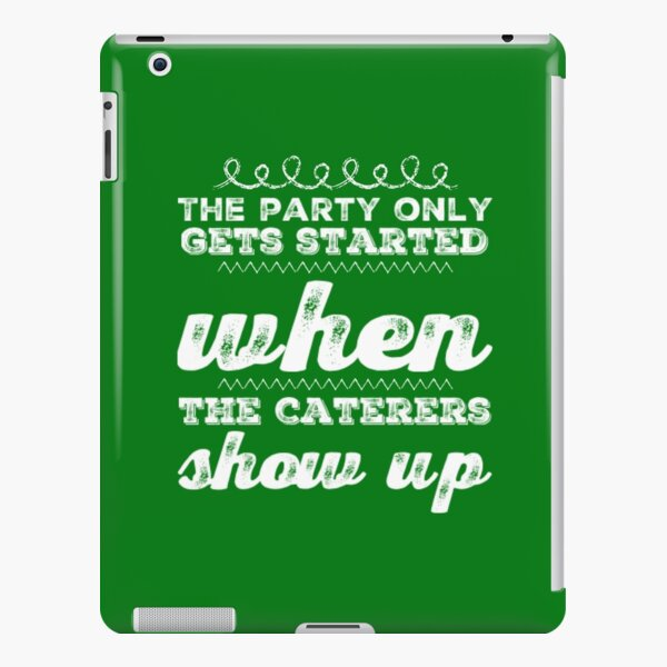 Caterers iPad Snap Case