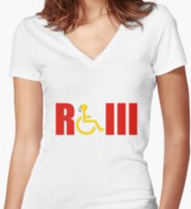RGiii Women's Fitted V-Neck T-Shirt