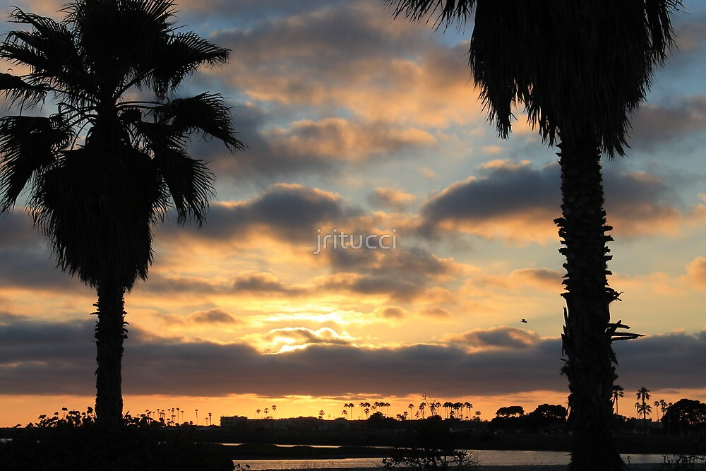 California Sunset by jritucci