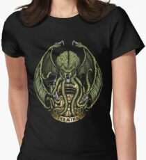 Cthulhu Exterminates Women's Fitted T-Shirt