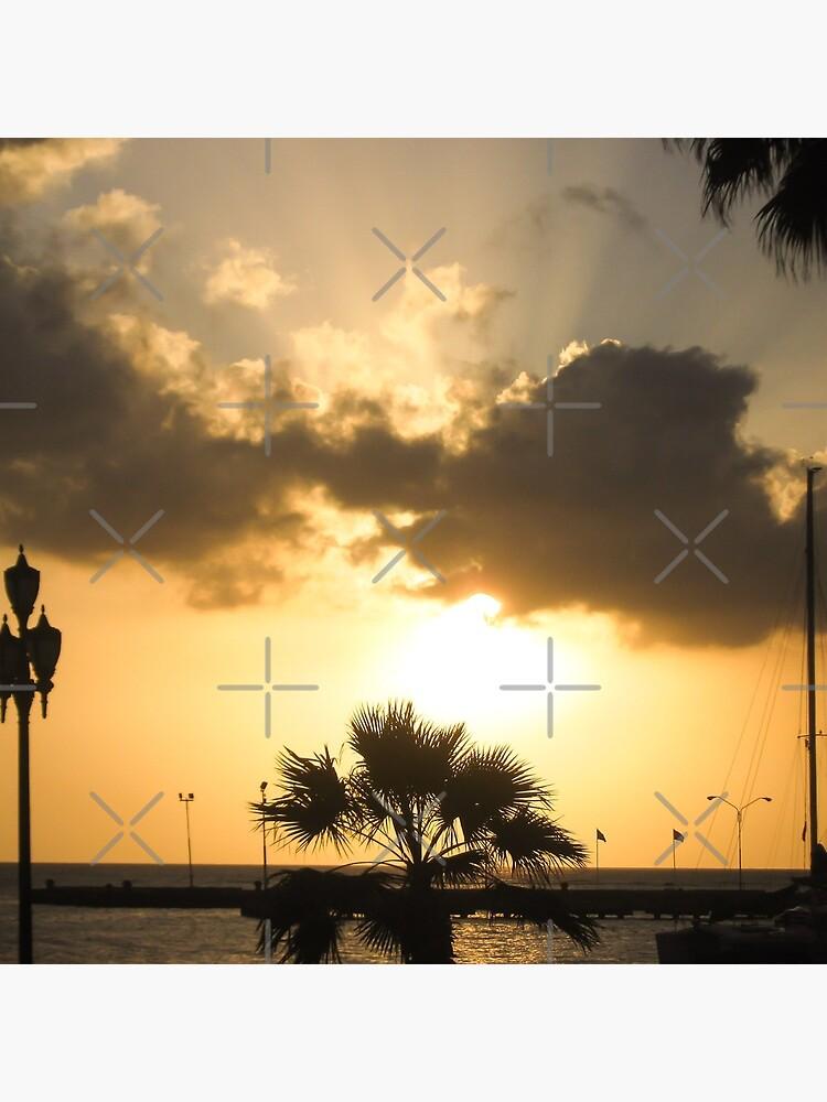 Aruba Caribbean sunset by am-mantilla2156