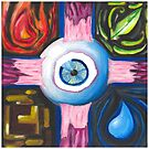 Crucifixion of the Eyeball by Asher Davidson