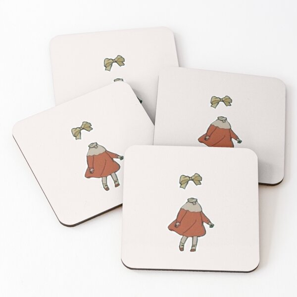 Ninny, The Invisible Child Coasters (Set of 4)