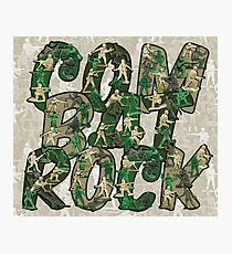 Combat Rock Photographic Print