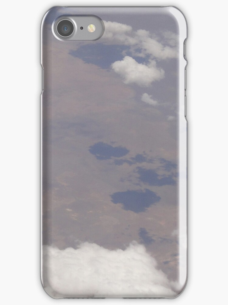 Cloud Shadows iPhone Case by STHogan
