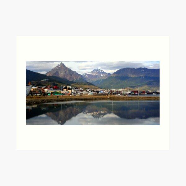 Reflections at Ushuaia Art Print