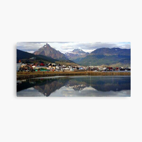 Reflections at Ushuaia Canvas Print