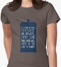 All Of Time And Space Women's Fitted T-Shirt