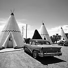 Route 66 Wigwam Motel by Frank Romeo