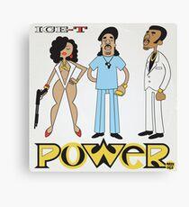 Ice-T - Power Canvas Print