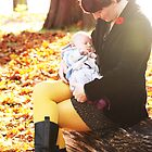 Liam's first fall day  by Stung  Photography