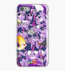 The many faces of Twilight Sparkle iPhone Case/Skin