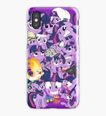 The many faces of Twilight Sparkle iPhone Case