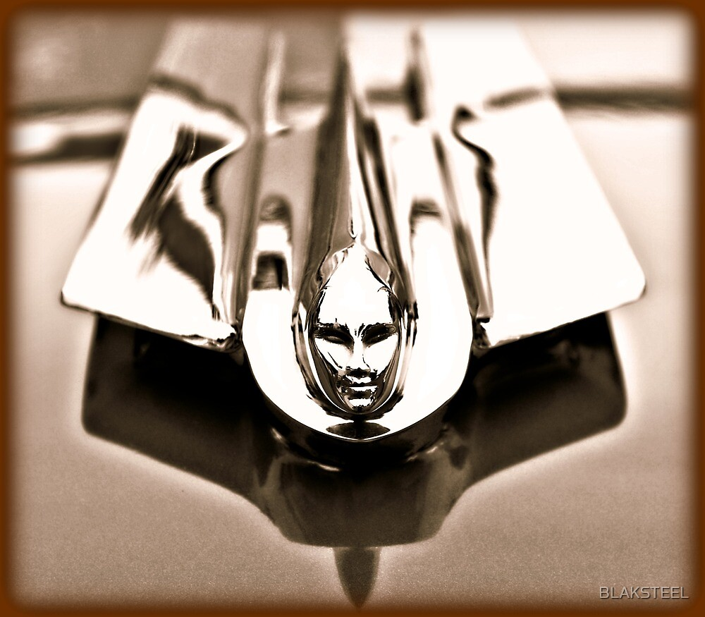 1955 Cadillac Hood Ornament by BLAKSTEEL