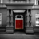 Red Door by David Tigani