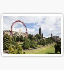 Edinburgh Festival  Sticker