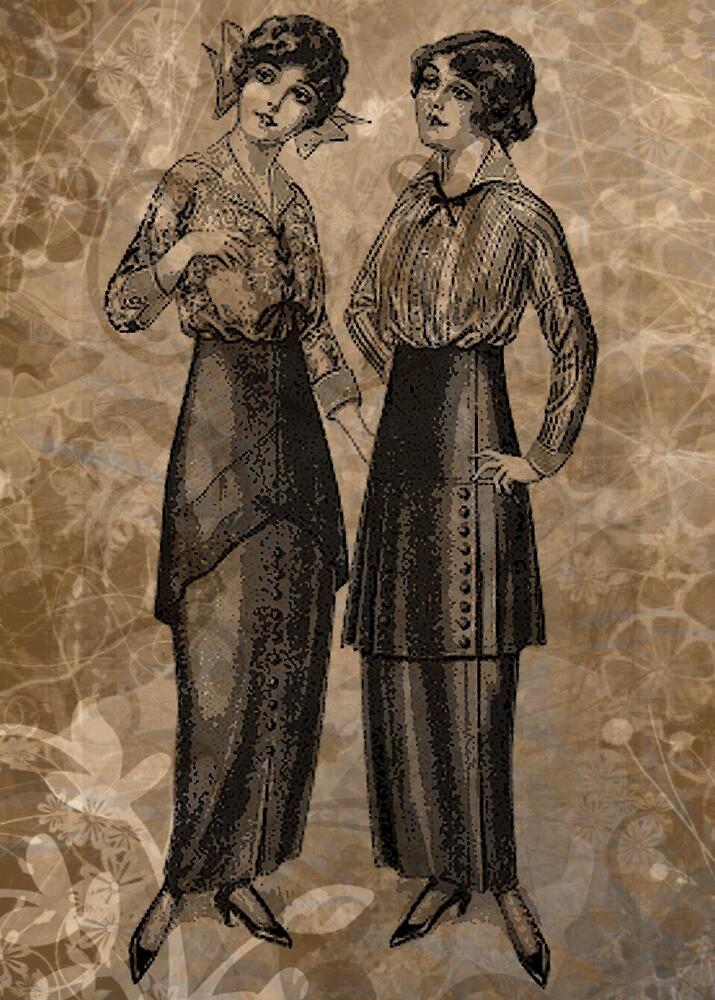 EDWARDIAN LADIES by Tammera