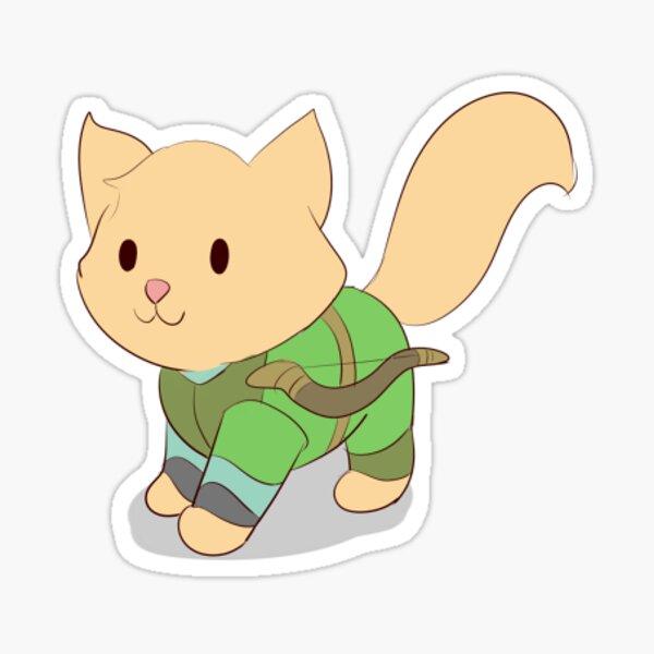 Elf Cat Sticker