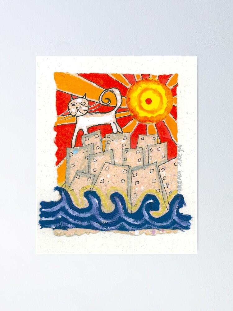 Alternate view of Gato en la ciudad Poster