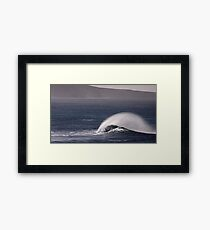 Images of Australia - Wind and Waves Framed Print
