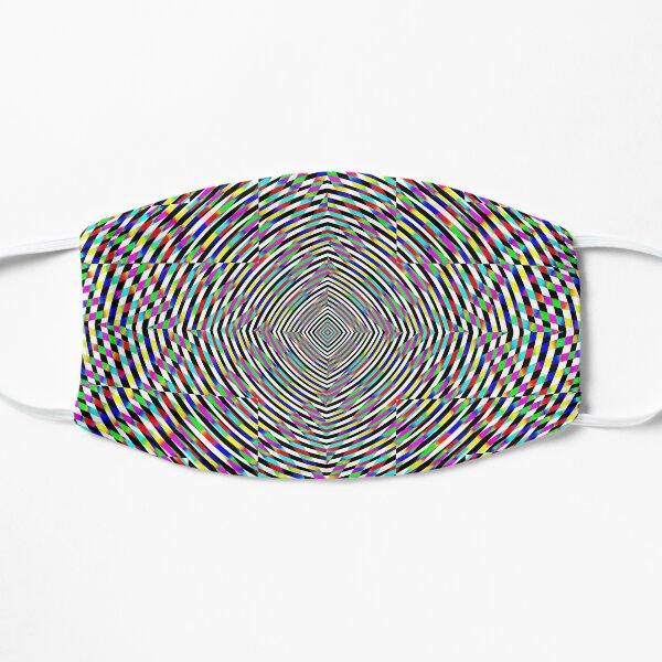 Visual arts, Optical illusion, Concentric Circles, Geometric Art, - концентрические круги Flat Mask