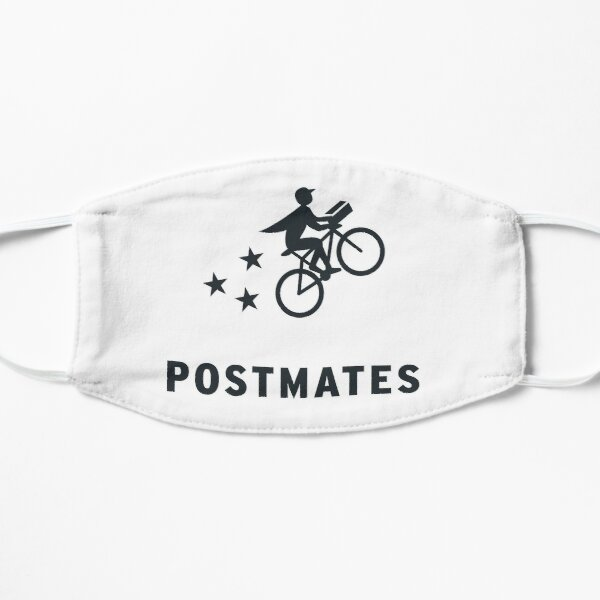 Postmates Gear for Postmates Workers Flat Mask