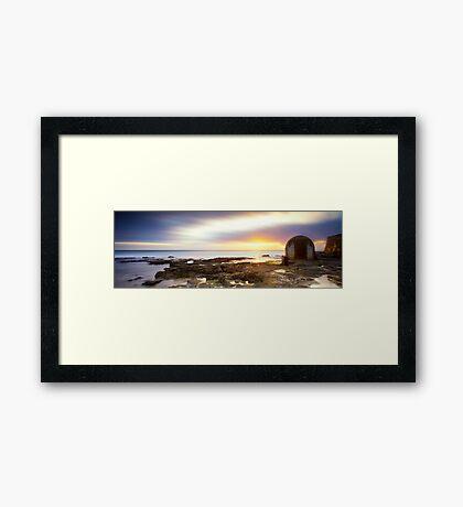 Pump House - Newcastle Framed Print