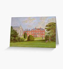 Everingham Park, Yorkshire, England  Greeting Card