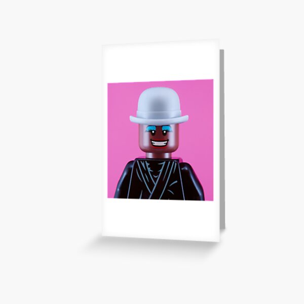 Grace Jones Portrait Greeting Card