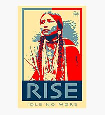 RISE - Idle No More - by Aaron Paquette Photographic Print