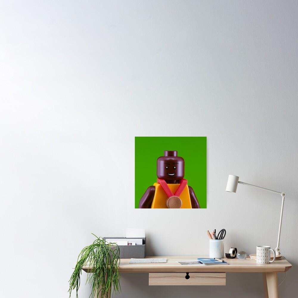 Usain Bolt Portrait Poster