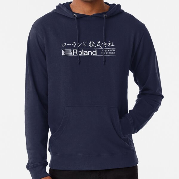 Roland Logo Japanese (light!) Lightweight Hoodie