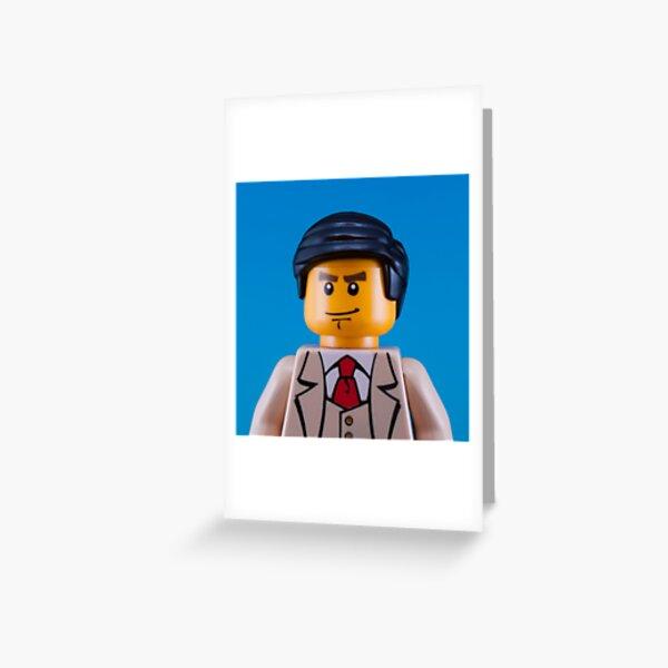 Alan Turing Portrait Greeting Card